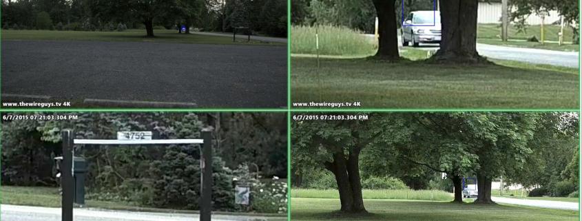 Kültéri IP kamera