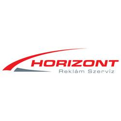 Horizontreklám logó
